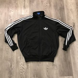 Adidas Trefoil Full Zip Track Jacket Three Stripe